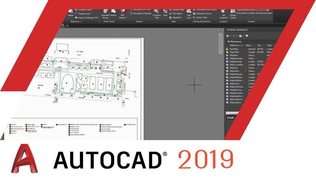 AutoCAD 2019 2019.0.1中文版