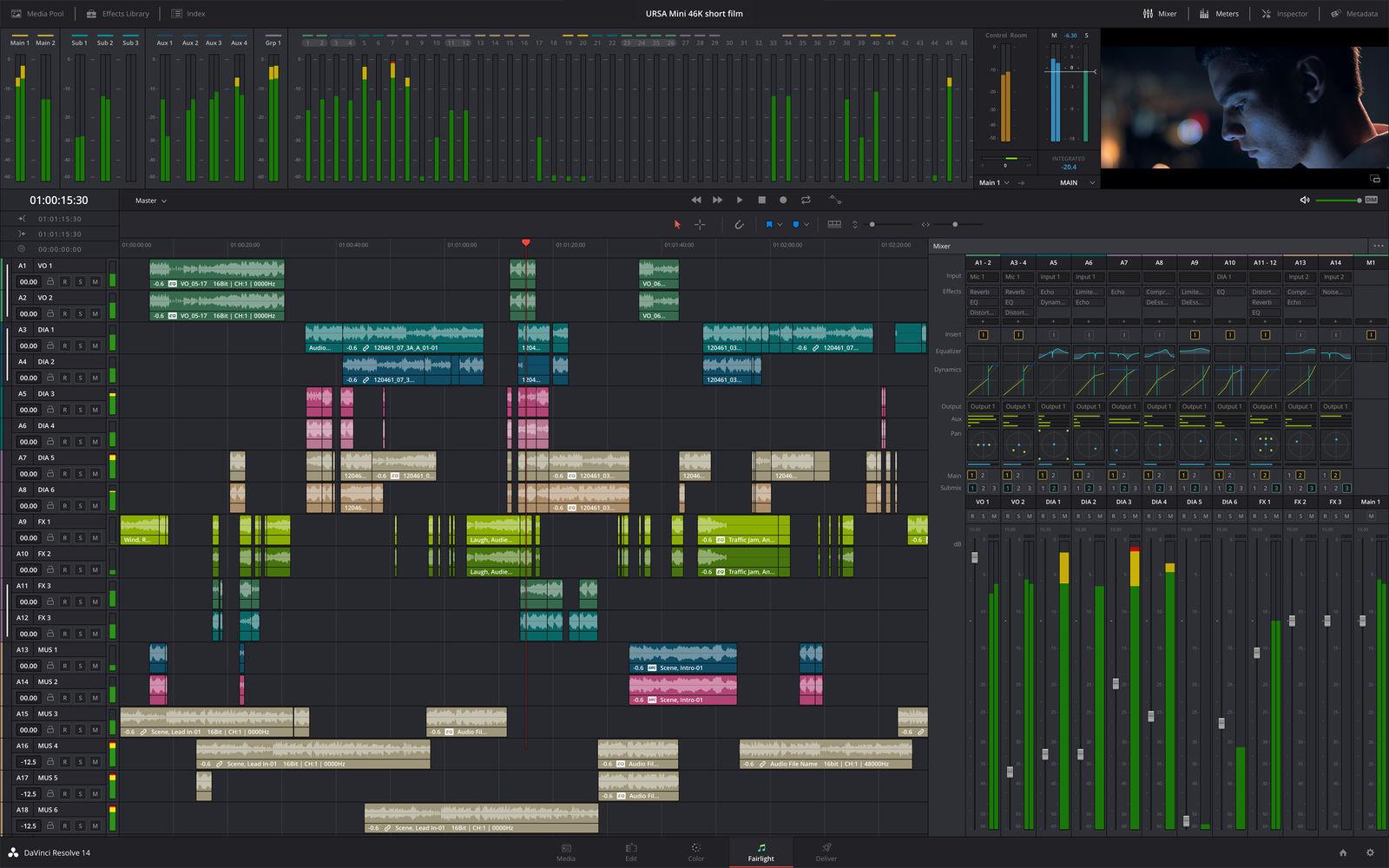 DaVinci Resolve Studio 达芬奇 17.1.1中文版
