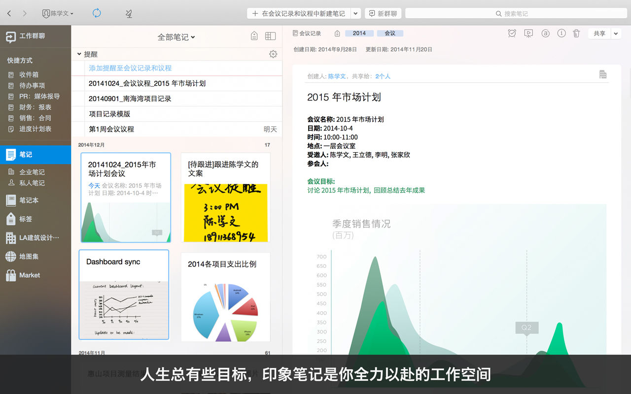 印象笔记(Evernote) for mac 9.1.3_458534中文版
