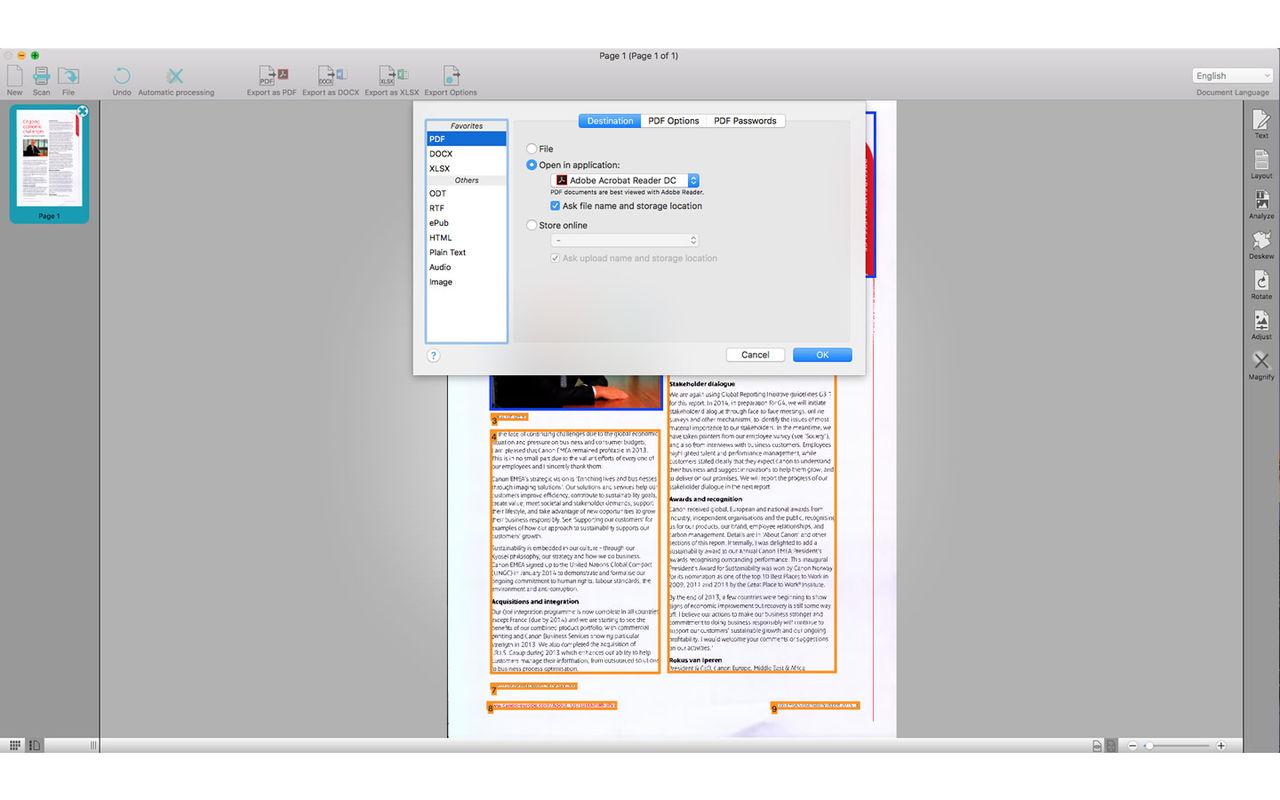 Readiris Pro  for mac 17.1.2