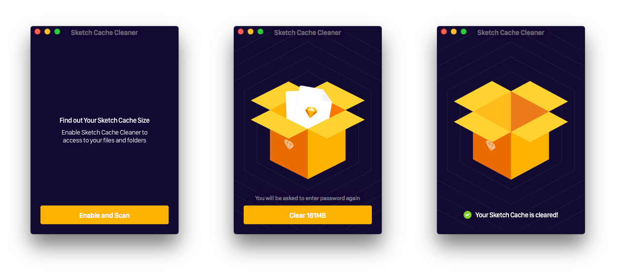 Sketch Cache Cleaner 1.0.5