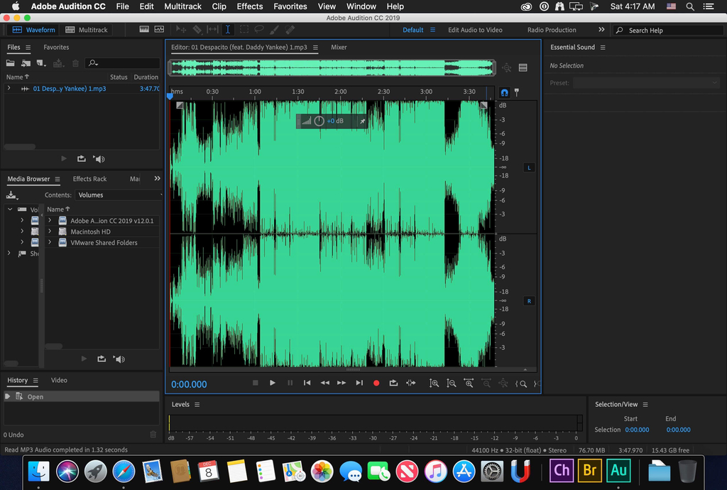 Adobe Audition 2020 for mac 13.0.13中文版