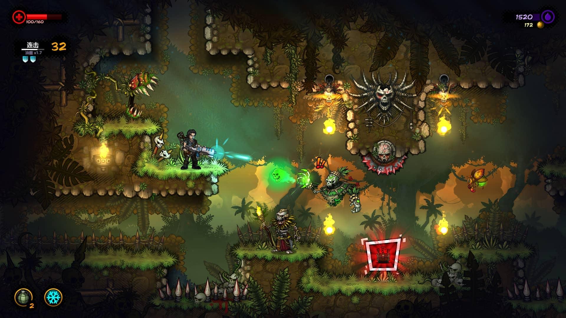 Fury Unleashed 游戏界面