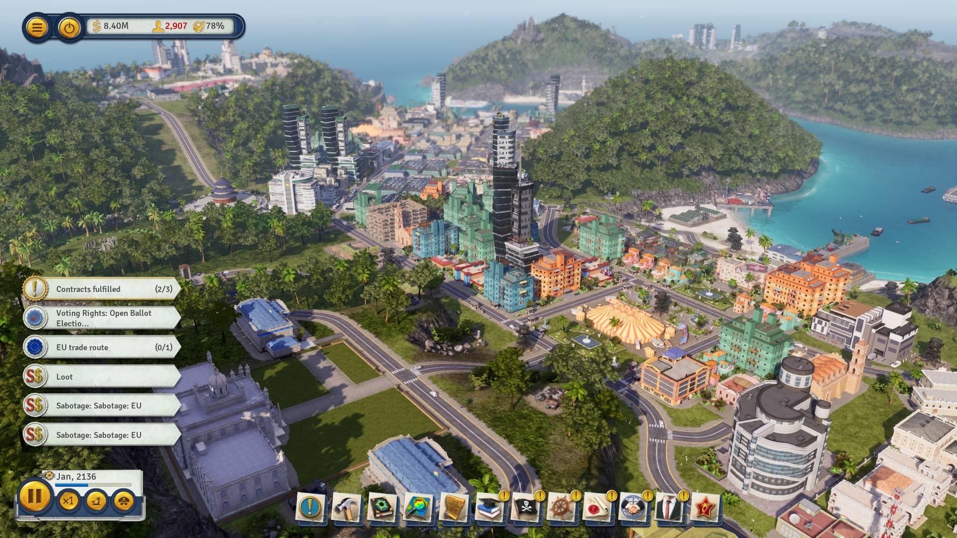 《海岛大亨6》Tropico 6 mac中文版 游戏截图