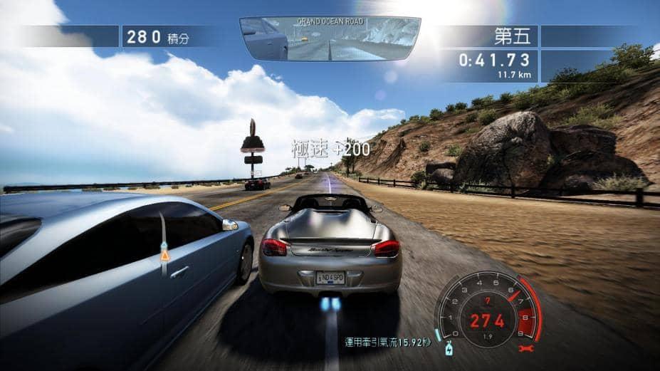 《极品飞车14:热力追踪》mac版