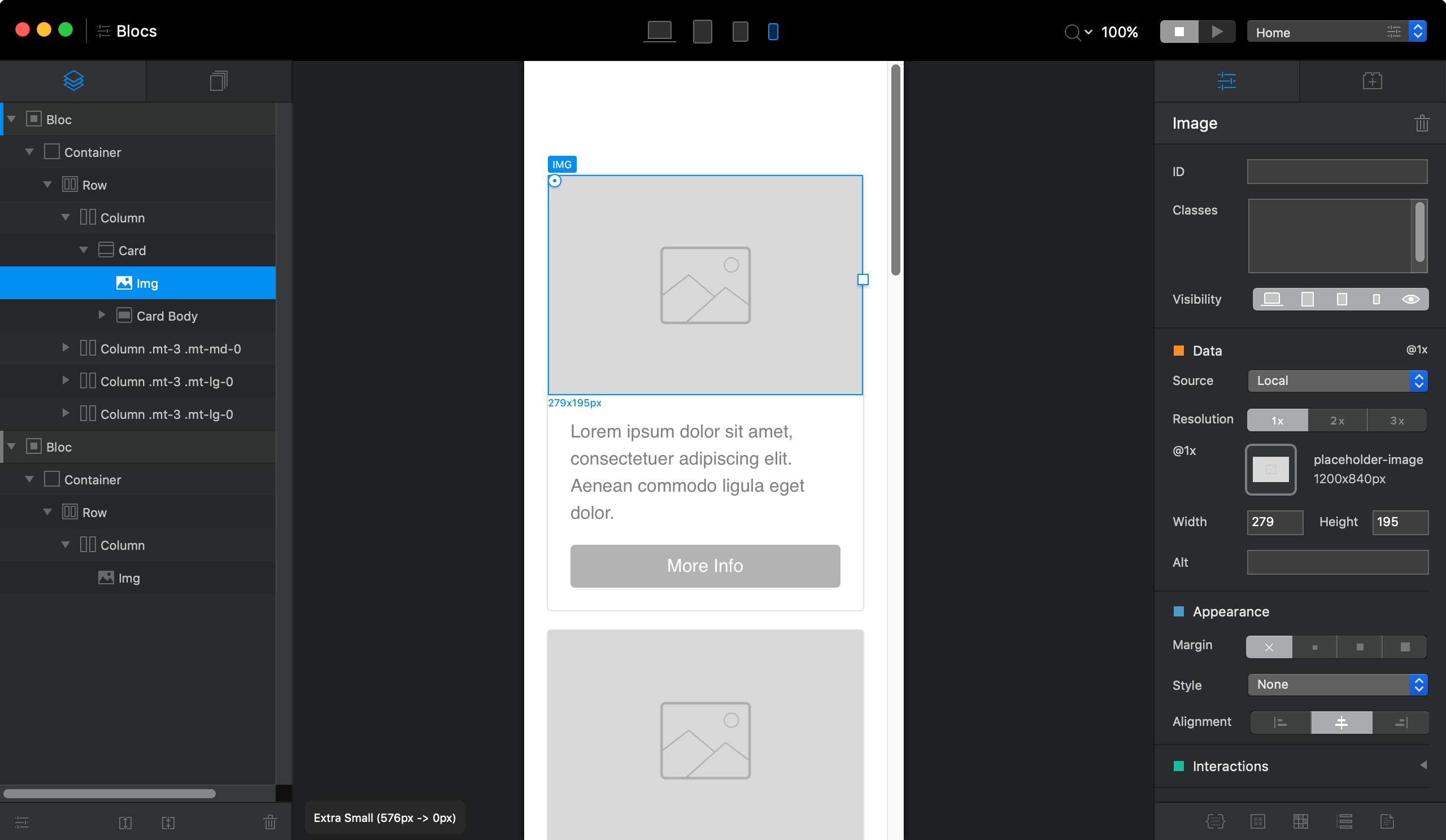 Blocs for Mac 现代网页设计工具