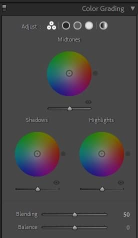Lightroom Classic 现在提供强大的颜色分级工具