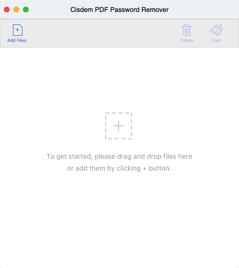 Cisdem PDF Password Remover pdf密码破解