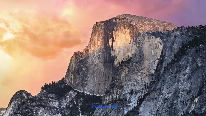 OS X 10.10 Yosemite(优胜美地)