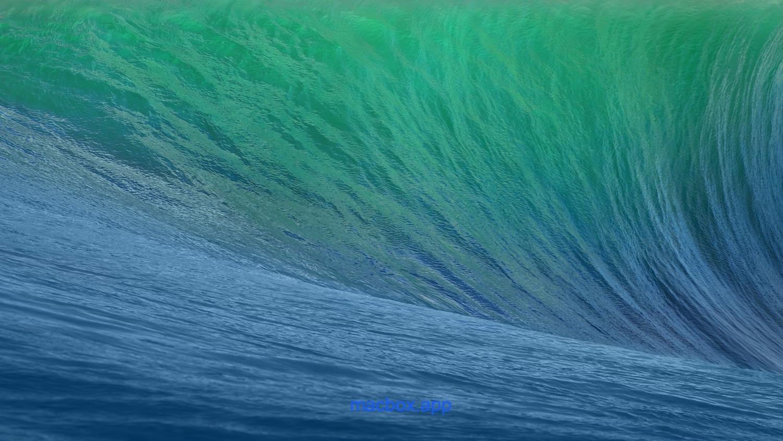 OS X 10.9 Mavericks 系统壁纸