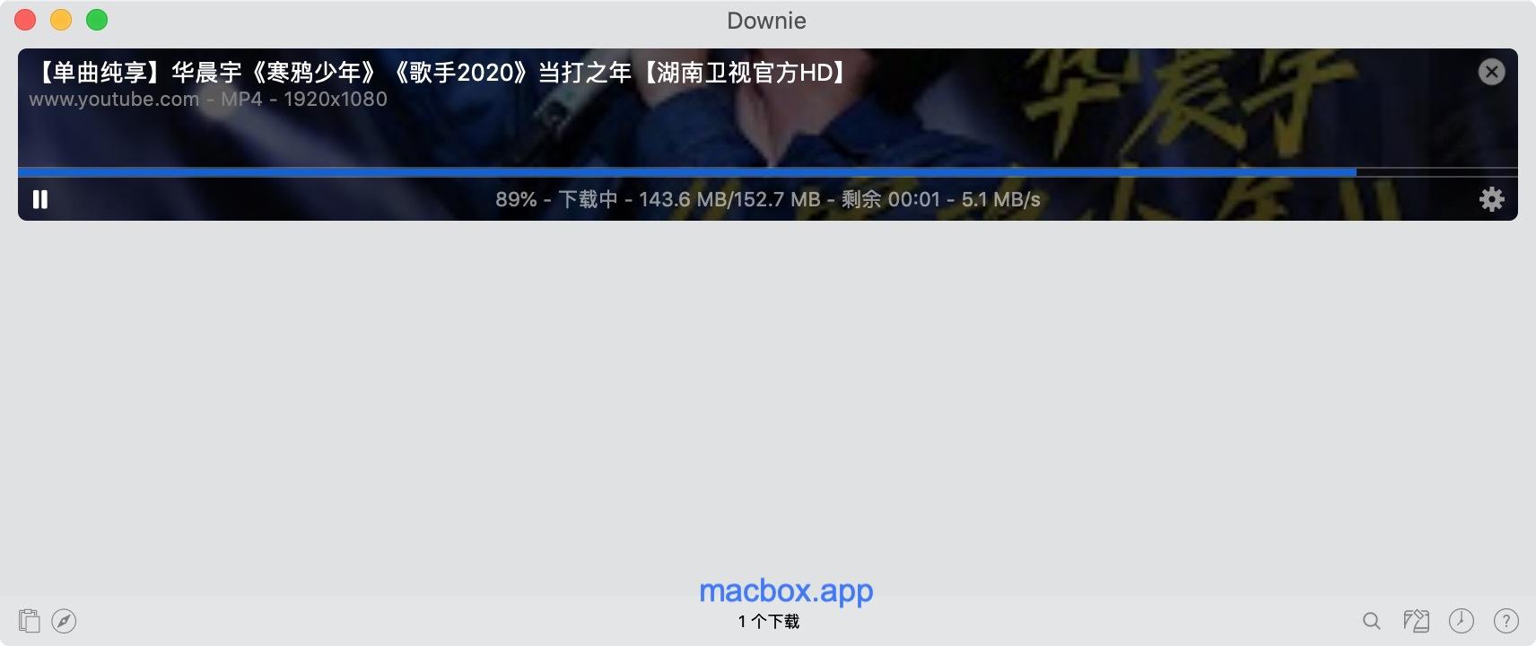 Downie 4.0 for mac