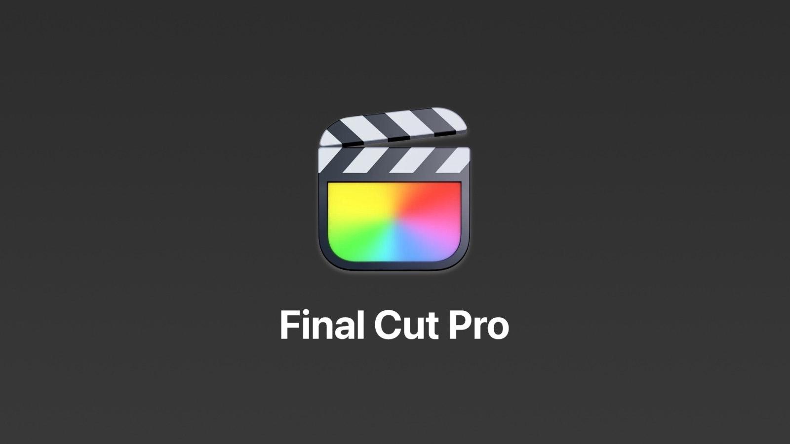 Apple 最新Final Cut Pro,iMovie,Motion和Compressor for Mac的更新