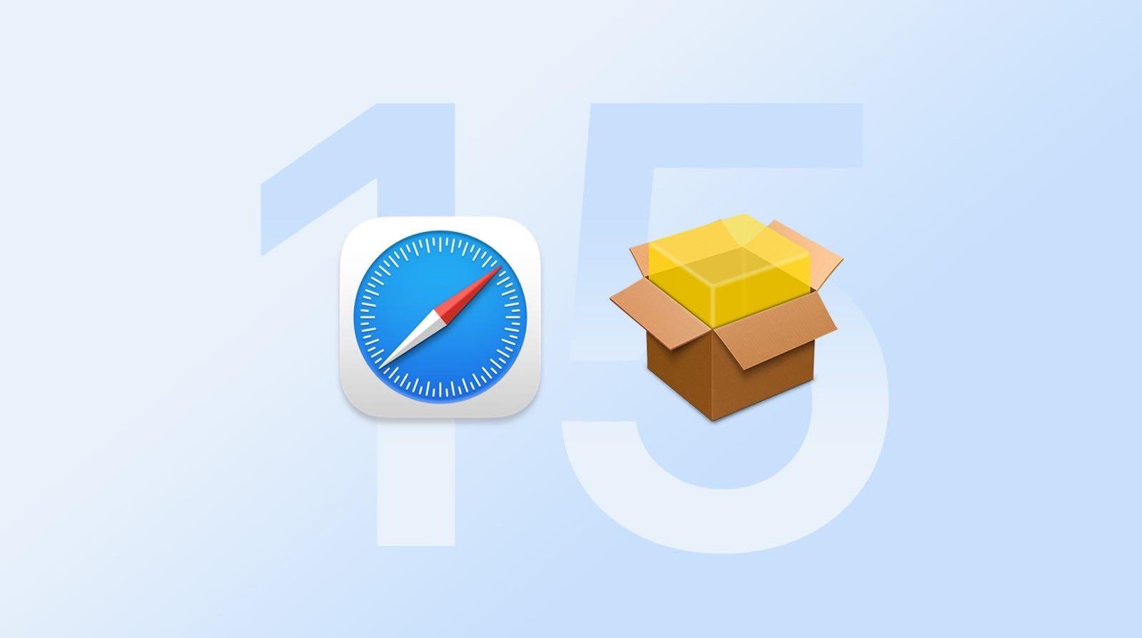 Safari 15 for macOS Catalina beta 1 下载