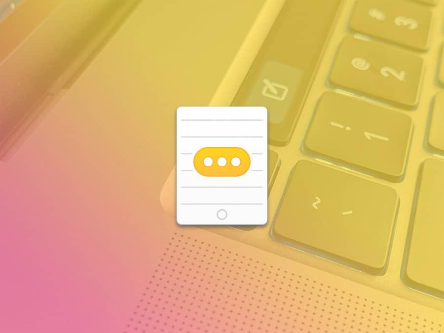 通过mac键盘给iPhone、iPad打字